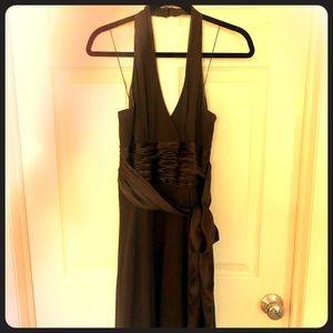 Tea length semi formal dress
